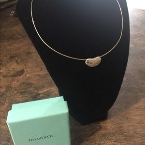 AUTHENTIC Tiffany and Company large bean choker